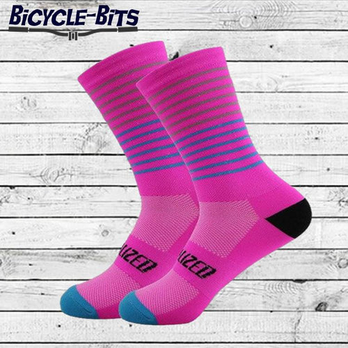Hooped Cycling Socks - Bicycle Bits