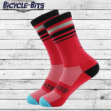 Load image into Gallery viewer, Striped Cycling Socks - Bicycle Bits