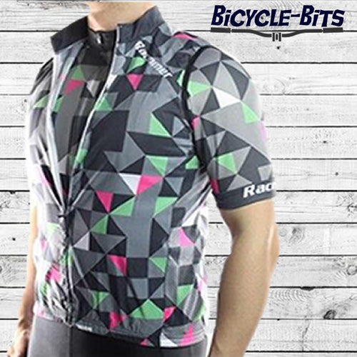 Grey Triangle Windstopper Sleeveless Cycling Jacket - Bicycle Bits