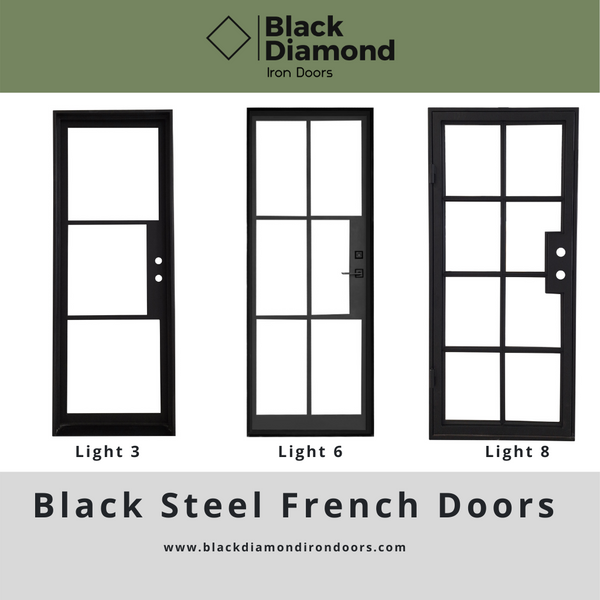 Wrought Iron French Doors