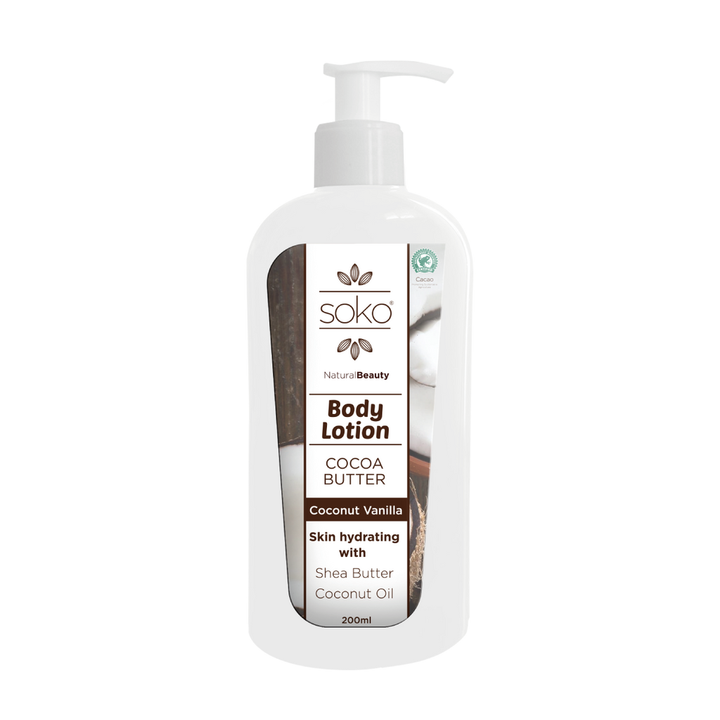 Cocoabutter Coconut-Vanilla Body Lotion 200 ml