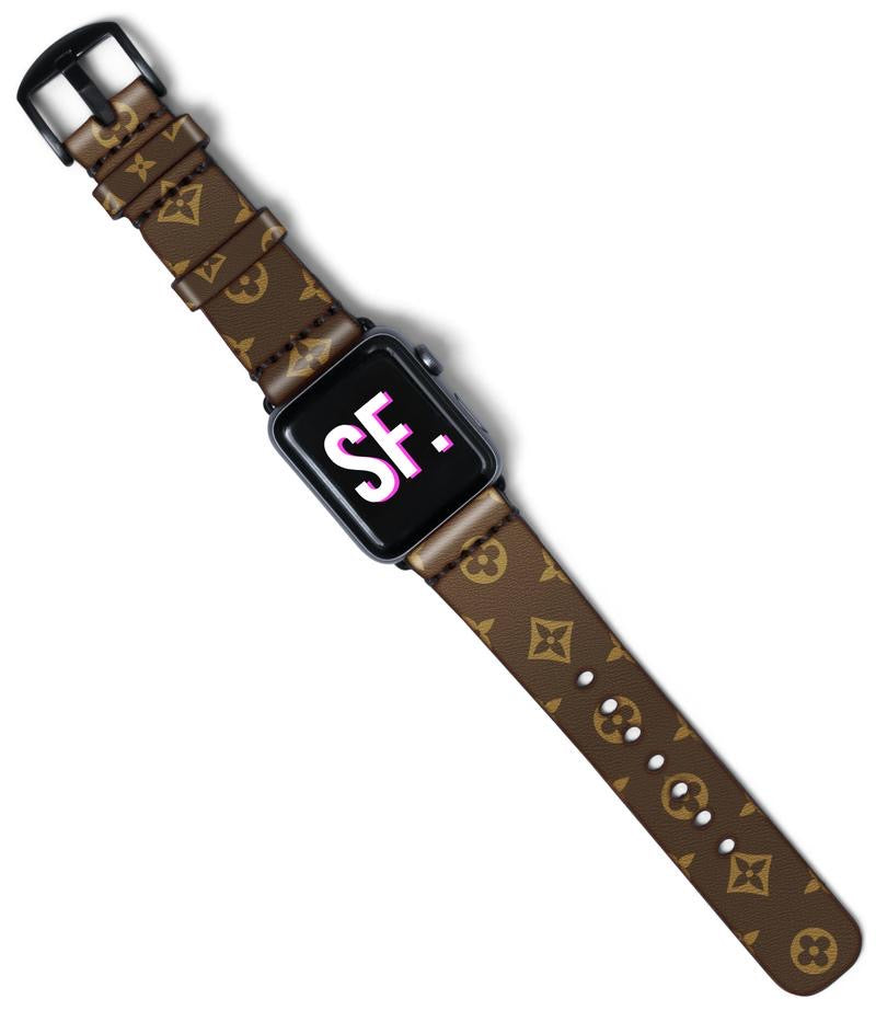 LV Custom Handmade Apple Watch Band PRE-ORDER now!