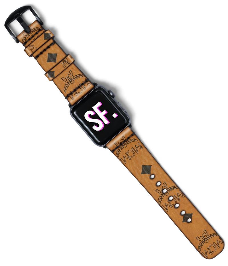 MCM Custom Made Apple Watch Band PRE-ORDER NOW!