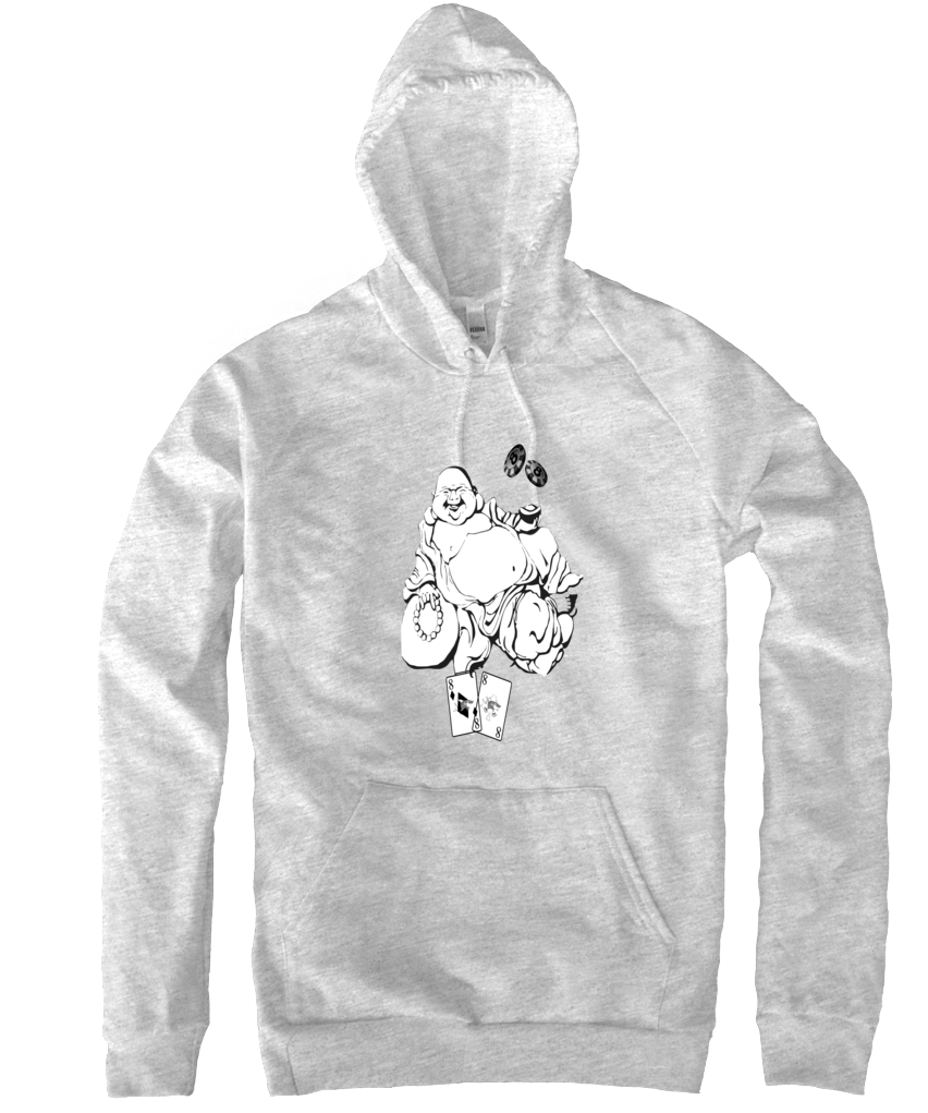 Lucky Shark Buddha Hoodies