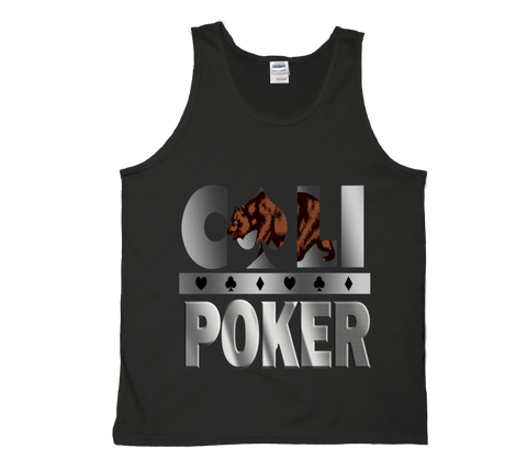 Cali Poker Tank Top