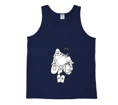 Lucky Shark Buddha Tank Top