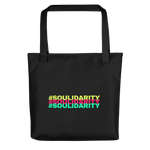 Load image into Gallery viewer, Tote bag | #SOULIDARITY multi-color