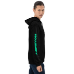 Load image into Gallery viewer, Hoodie | Turquoise print (unisex)