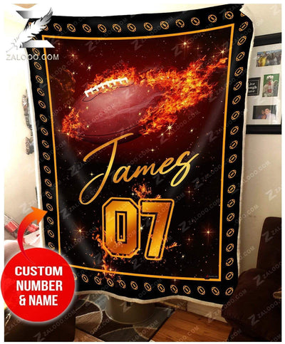 Custom  - Football  - Fire Blanket
