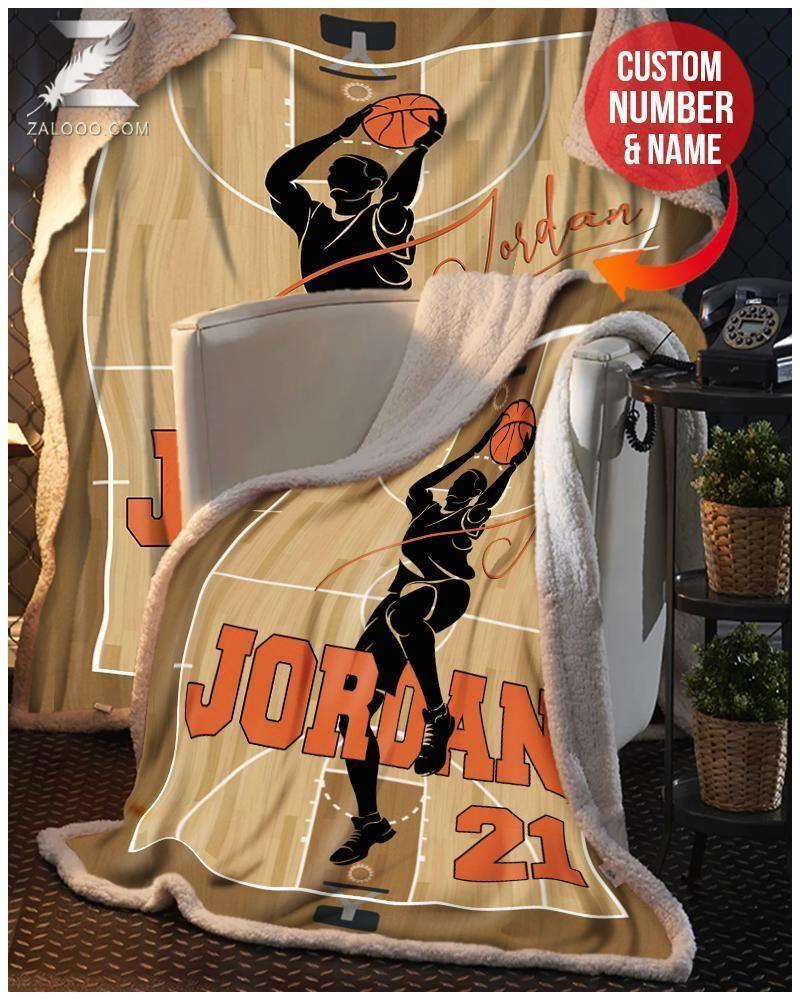 Custom Blanket - Basketball - Basketball Player