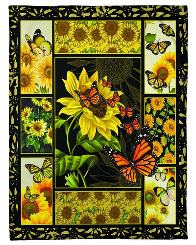 Sunflowers And Butterflies CL301287MDF