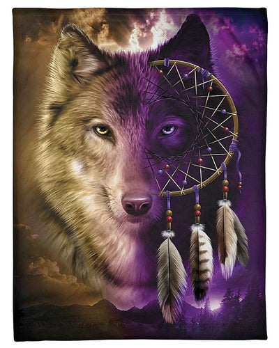 Wolf Wolf Dream Catcher GS-CL-DT1810