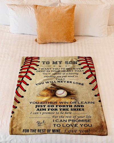 To My Son Baseball CL301320MDF