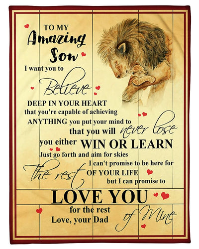 To My Lion Son CL2509114MDF