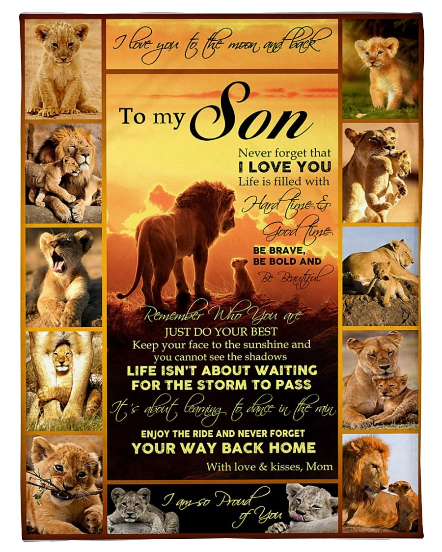 Lion Son Mom Remember Who You Are GS-CL-LD1211