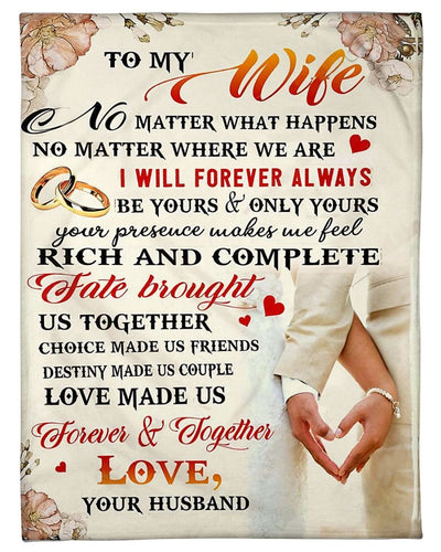 To My Wife Forever Together GS-CL-DT1810
