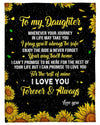 Sunflower To My Daughter I Love You GS-CL-LD2111
