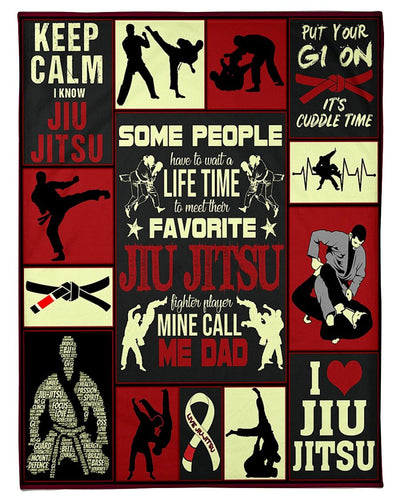 Jiu-Jitsu Dad Keep Calm GS-NT2402TS