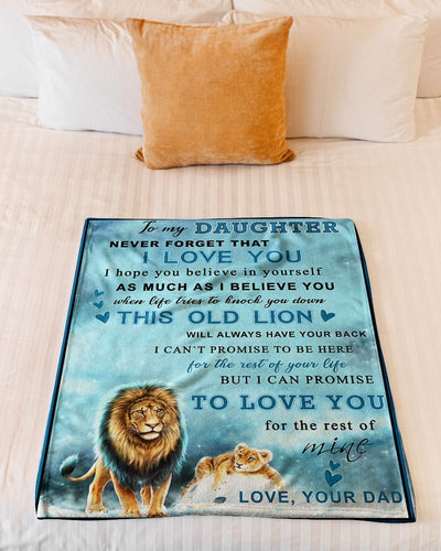 Lion To My Daughter This Old Lion GS-CL-DT1810