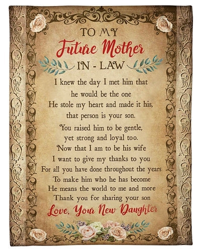 To My Future Mother Thank You GS-CL-LD2111