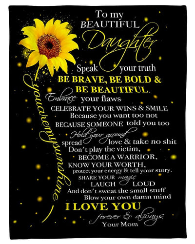 To My Daughter Speak Your Truth GS-CL-DT1810