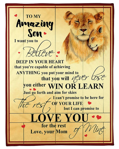 Lion Son Mom Love You GS-CL-LD1211