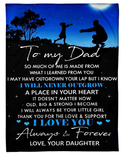 To My Dad Forever Always GS-CL-DT1610