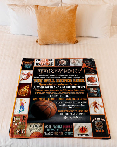 Basketball Son Love Mom CL300939MDF