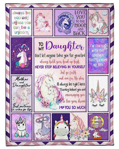 Love My Unicorn Daughter Mom GS-CL-LD2810