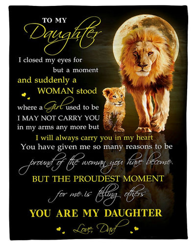 You Are My Daughter Love Dad GS-CL-DT1810