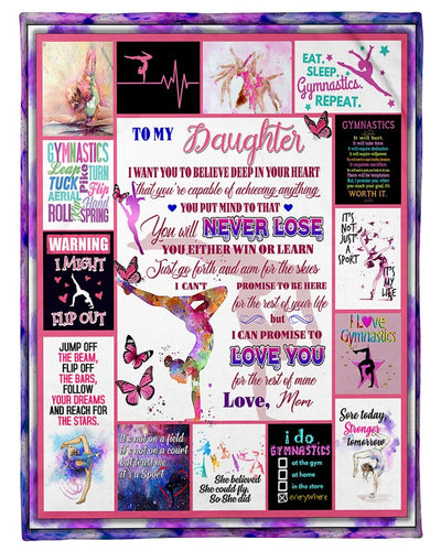 My Daughter I Love You Gymnastics GS-CL-LD2810