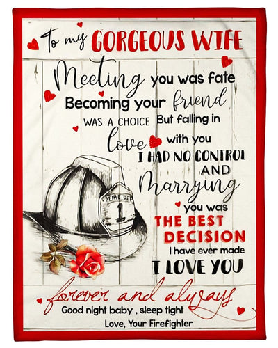 Firefighter To My Gorgeous Wife GS-CL-ML1211