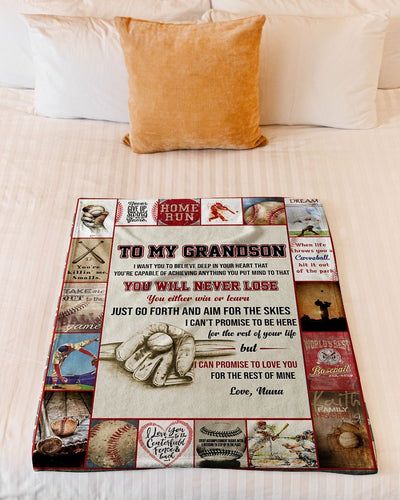 Baseball Grandson Love Nana CL300930MDF