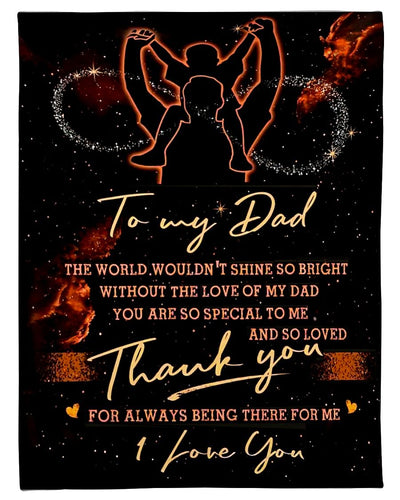 To My Dad Thank You GS-CL-LD2111