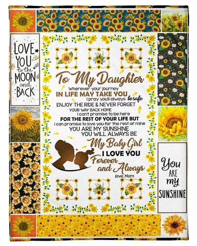 Sunflower To My Daughter Love You GS-CL-LD2111