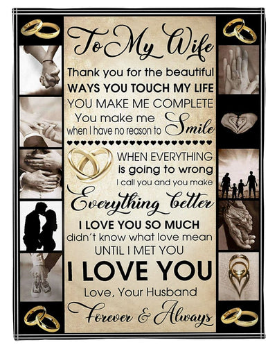 To My Wife Husband CL2509143MDF