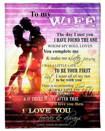 To My Wife Love You Until I Die GS-CL-DT1810