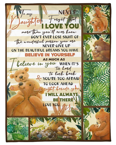 Bear To My Daughter Forget Love You GS-NT2702HY