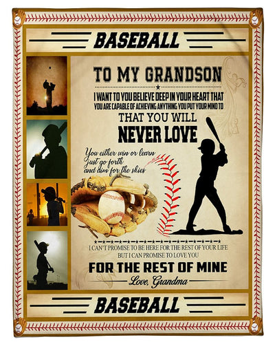 To My Grandson Just Plays Baseball CL2709501MDF