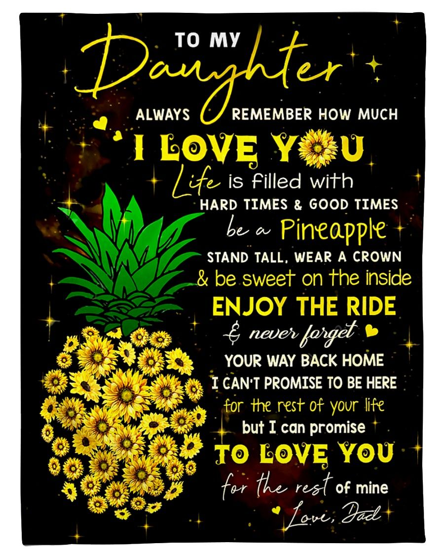 Daughter Dad Be A Pineapple GS-CL-DT1810