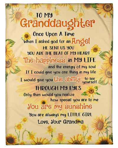 To My Granddaughter I Asked God GS-CL-DT1810