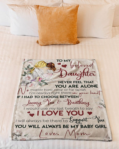 To My Beloved Daughter My Baby Girl GS-CL-LD1111