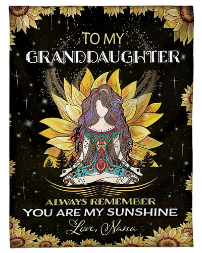 To My Granddaughter Love Nana GS-CL-DT1810