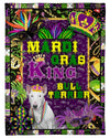 Mardi Gras King Bull Terrier Dog GS-NT0602PH