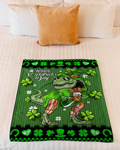 Happy St Patrex Day Dinosaur GS-NT2402TL