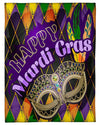 Happy Mardi Gras Mask Colorful GS-NT0302