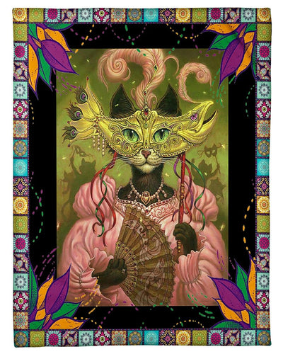 Mardi Gras Queen Cat GS-NT0402NP