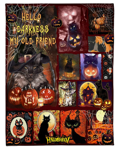 Black Cat Halloween CL190927MDF