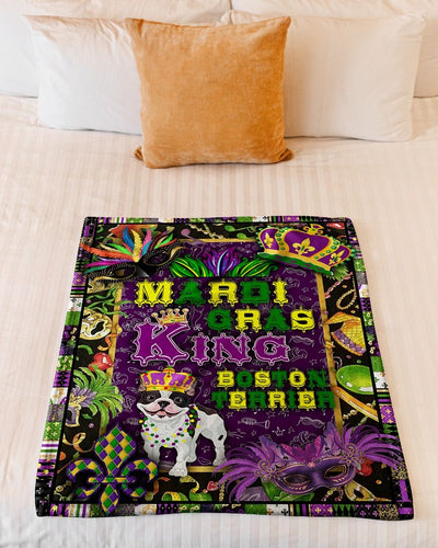Mardi Gras King Boston Terrier GS-NT0602PH
