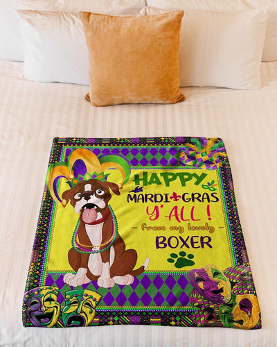 Happy Mardi Gras  My Lovely Boxer GS-NT0702TP